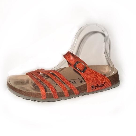 3265f946a457 Birkenstock Shoes - Birkenstock betula Burko flor iris sandals